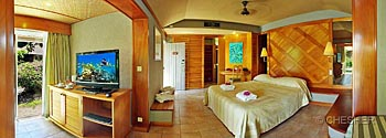 l'Escapade Island Resort Island Bungalow inside